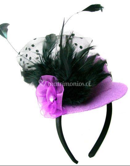 Mini Top Hat morado