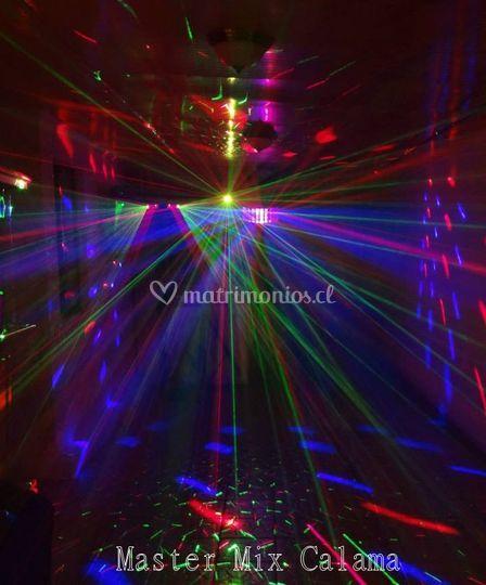Iluminación de fiesta (láser)