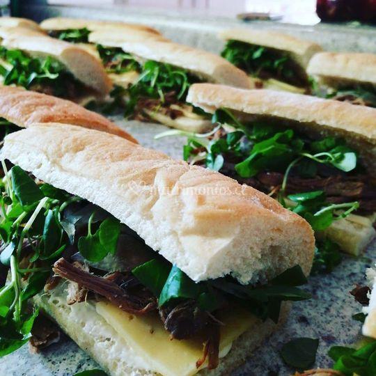 Sandwiches de plateada