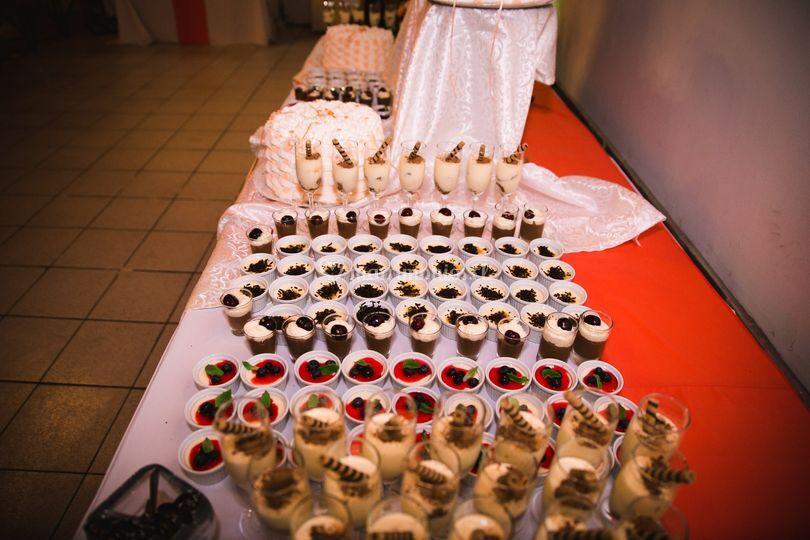 Postre buffet