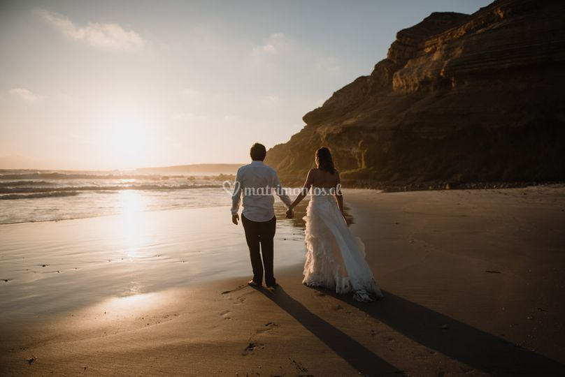 Trash the dress Kim & Pablo