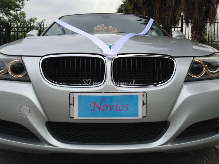BMW frente luces