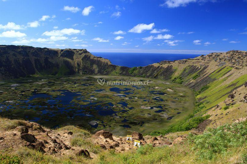 Tours: Volcán Rano Kau