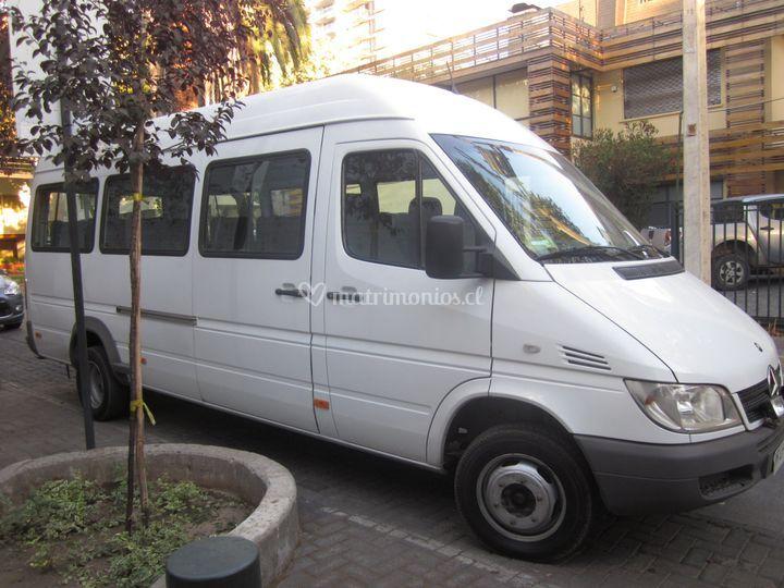 Sprinter para 16 pasajeros