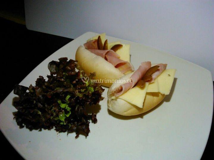 Jamón y queso