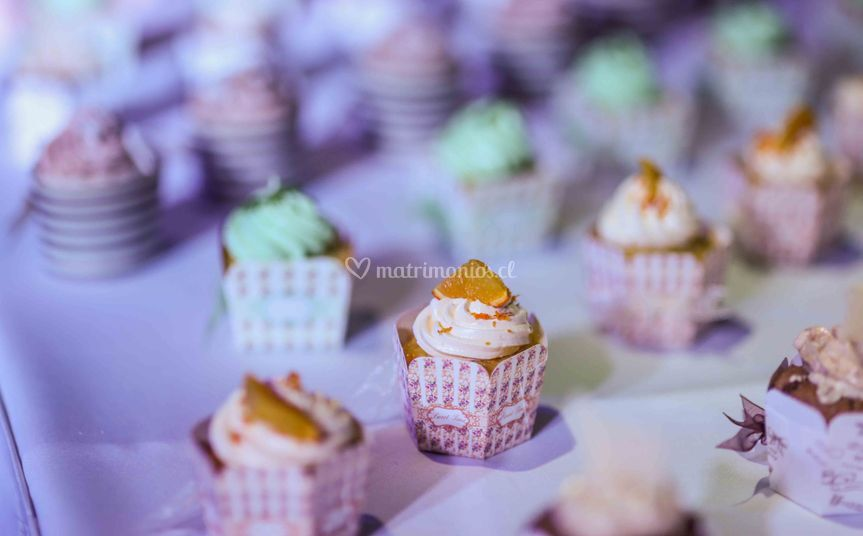 Buffet cupcakes