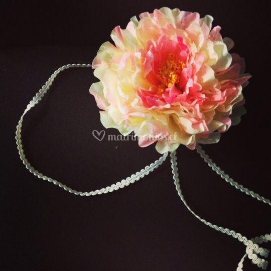 Flor de lado