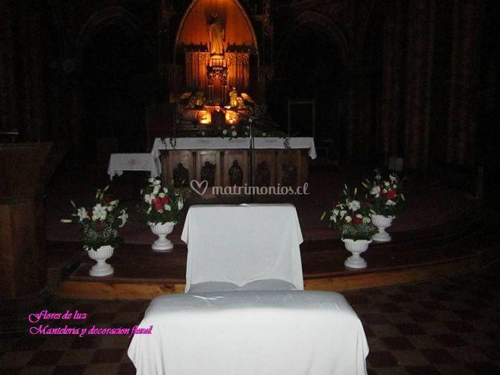 Ornamentación iglesia