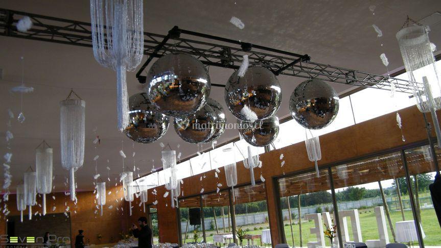 Esferas espejos