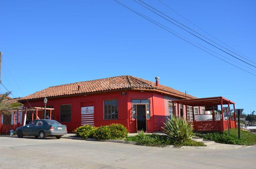 Exterior de Casa Roja