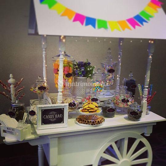 Candy cart bodas