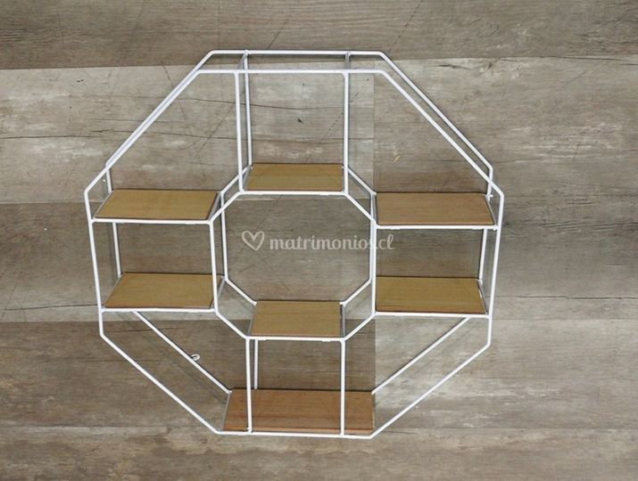 Repisa octogonal