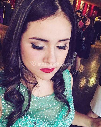Maquillaje para gala