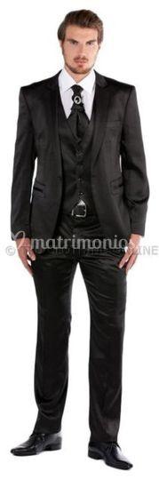 Negro brillante 3 p