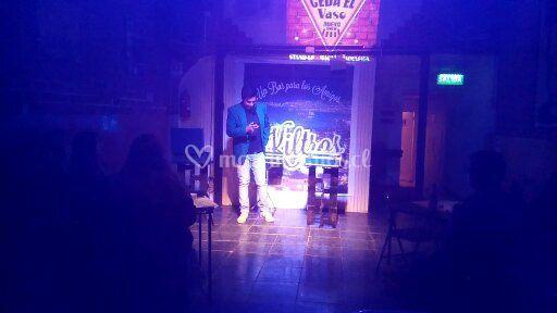 Show realizado en pub