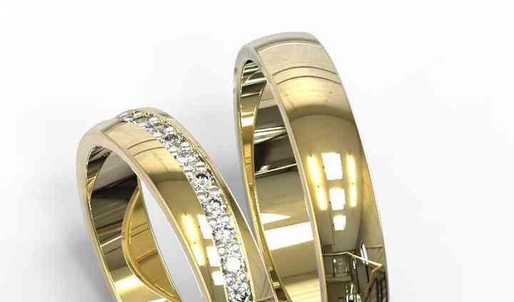 Beli Yg 18k amarillo diamante