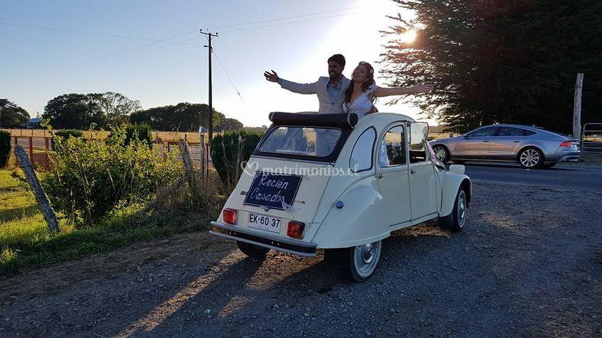 Matrimonio en Puerto Varas.