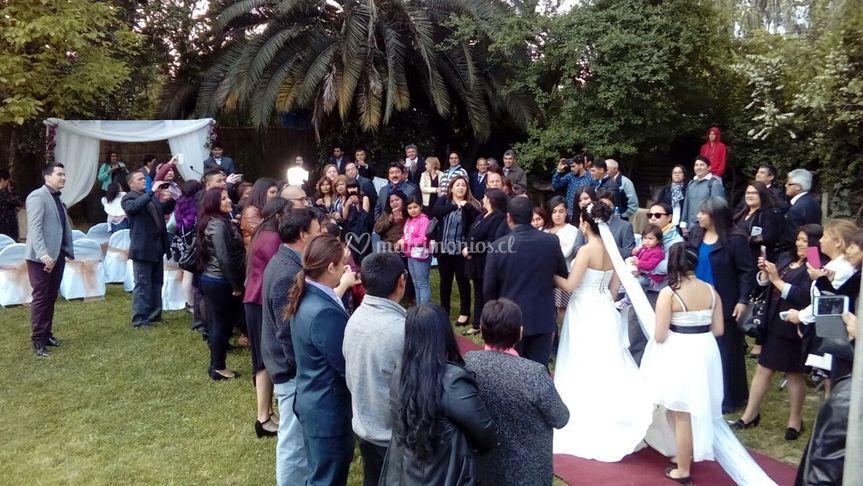 Entrada de novia al altar