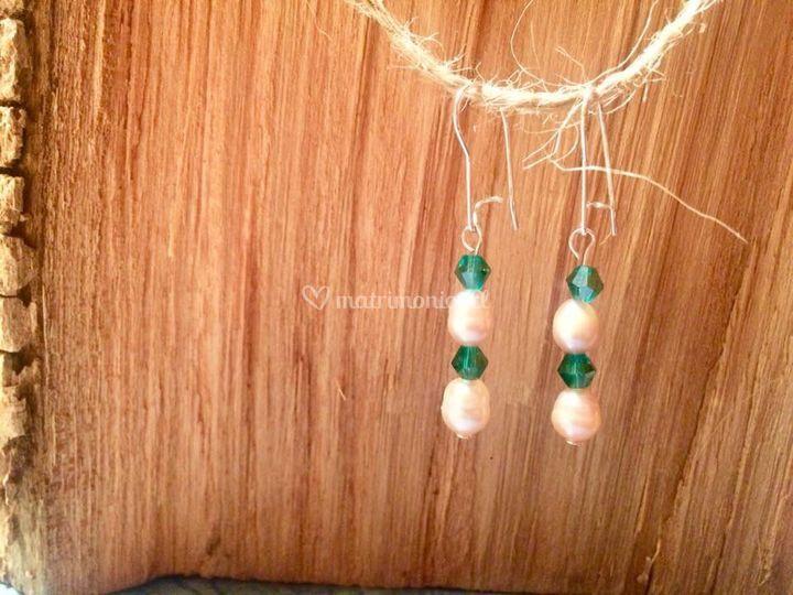 Aritos plata perlas naturales2