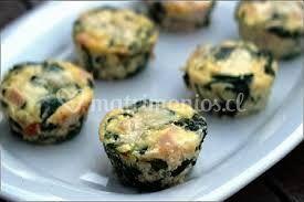 Mini muffins salados