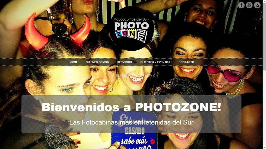 Web photozone.cl