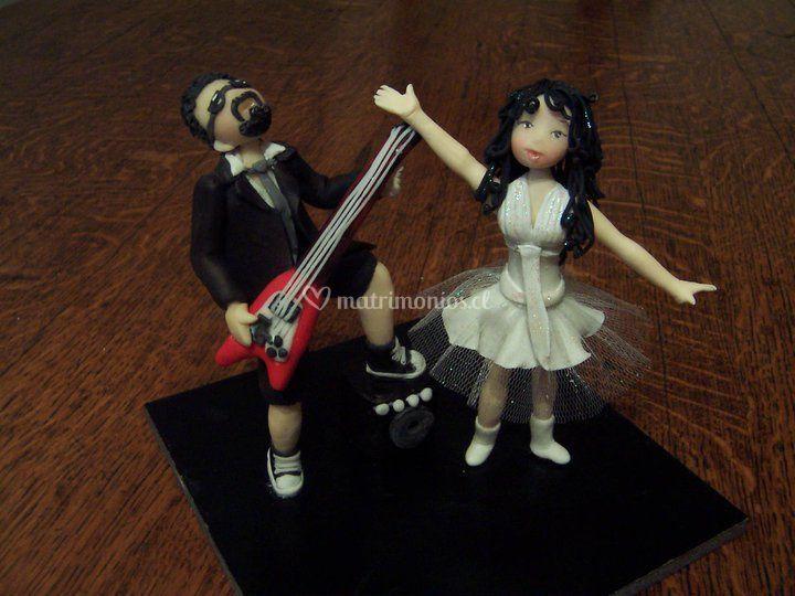 Novios rockeros