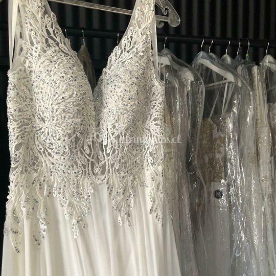 Vestidos novia Ellena