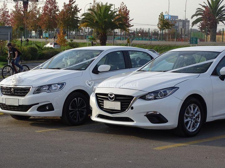 Mazda 3 y Peugeot 301