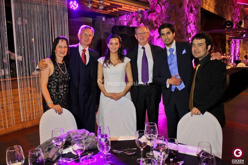 Foto con invitados