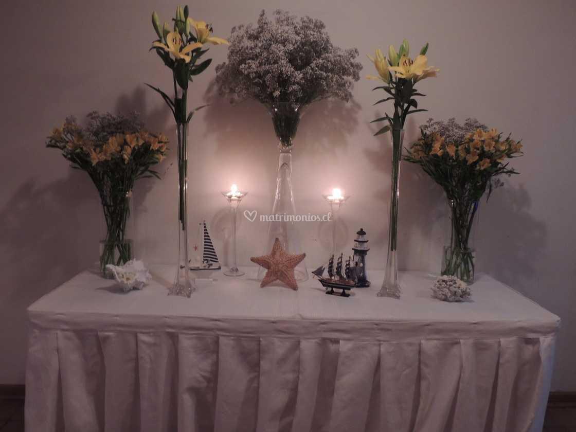 Delicados Arreglos Florales De Eventos Elial Foto 20