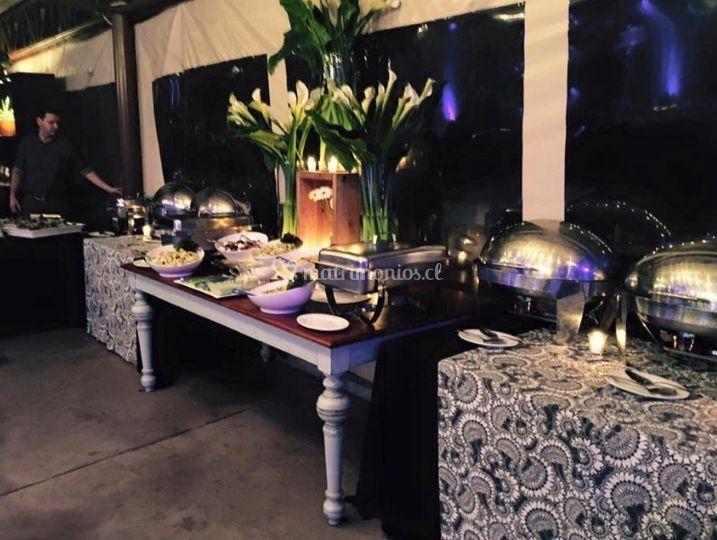 Banquetes para matrimonios