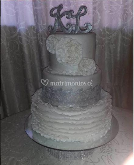 Torta plateada