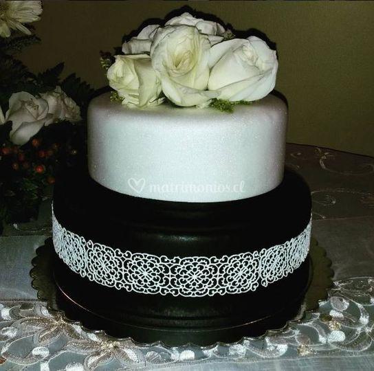 Parte de arriba de torta