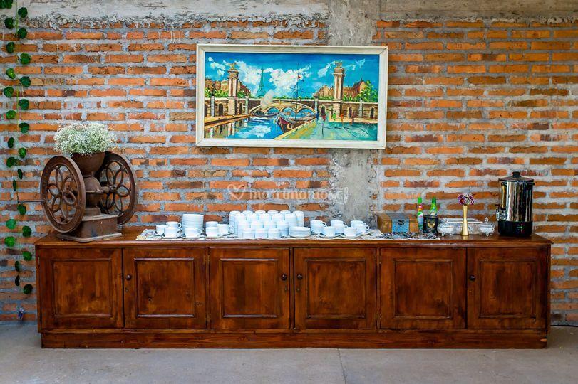 Buffet de té y café