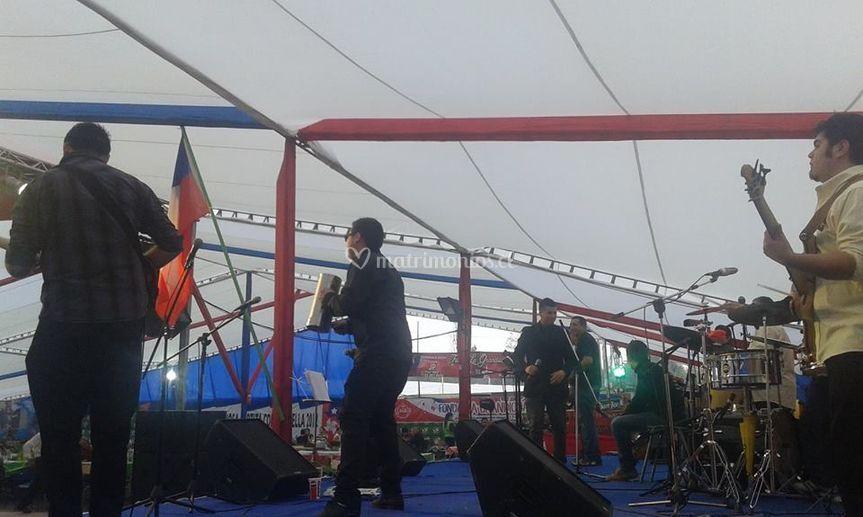 Música en escenario