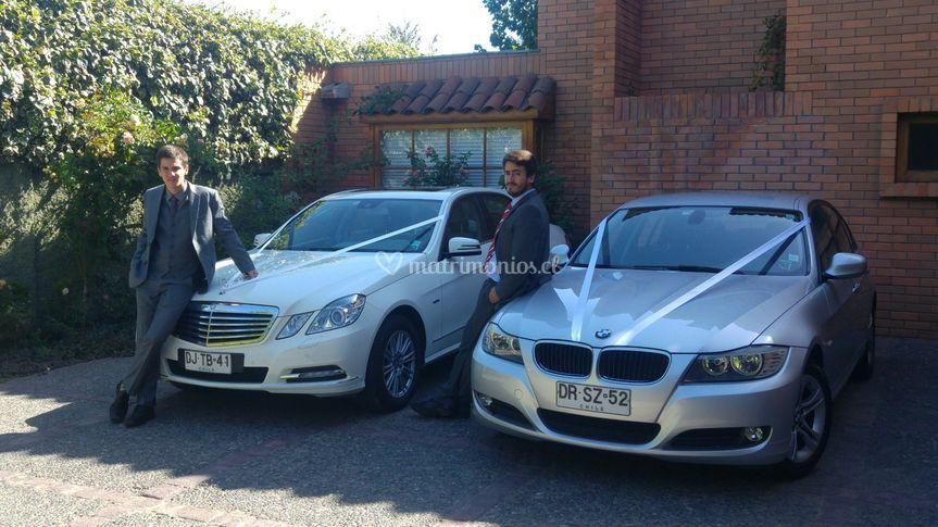 ANV, autos y choferes de Autos Novios VIP