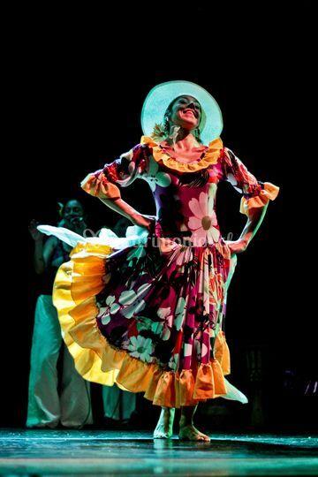 Bailarina de Zamacueca