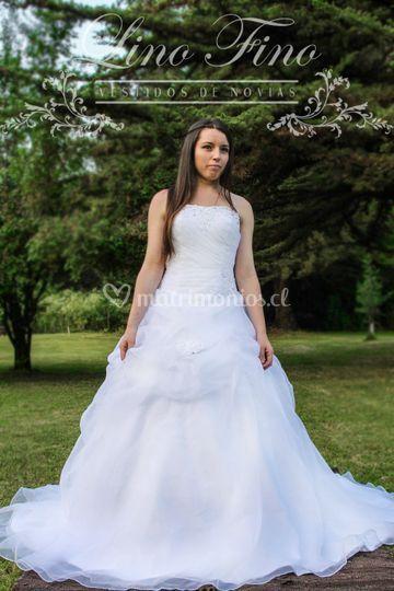 Vestidos de novia lino