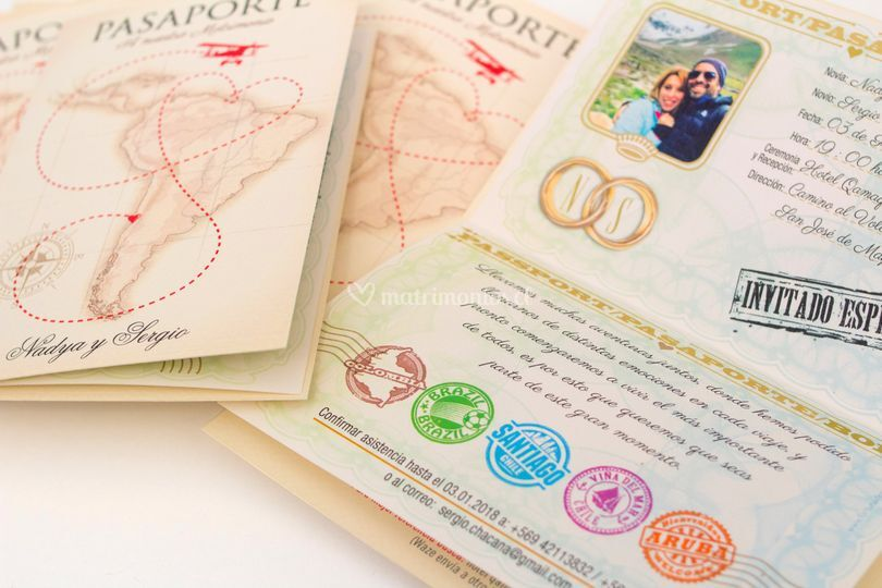 Pasaporte Textos interior