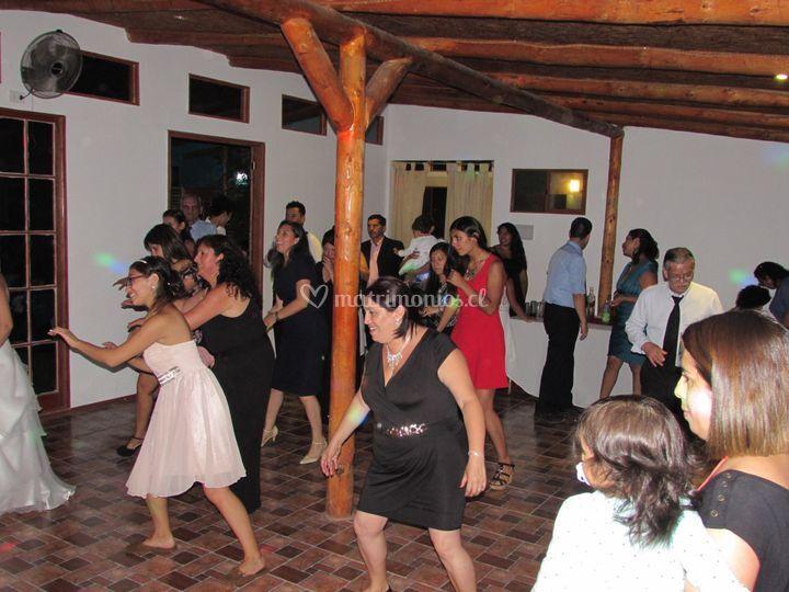 Bailes en grupo