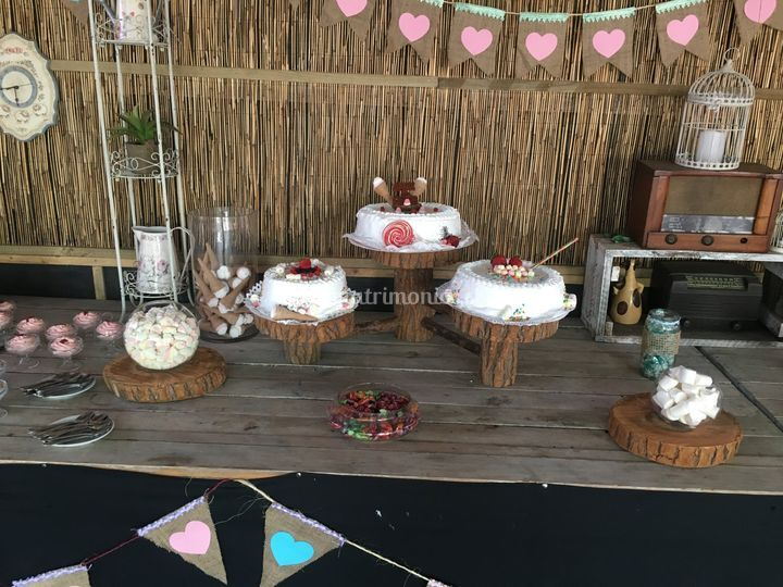 Torta estilo candy bar