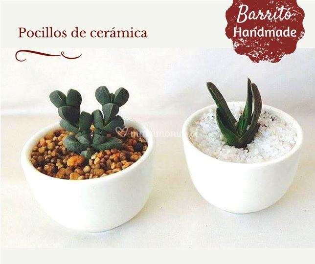 Barrito handmade for Viveros en penalolen