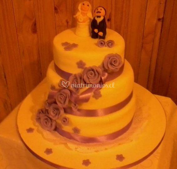 Torta para bodas