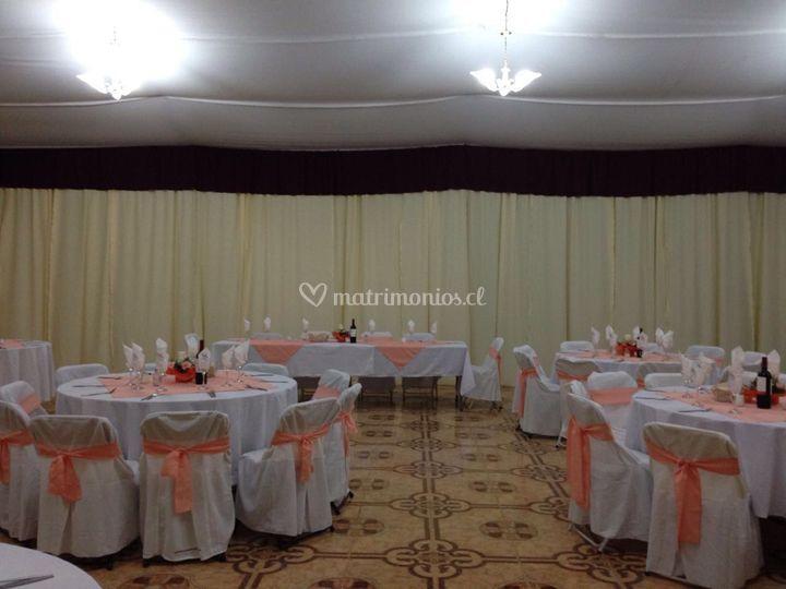 Salón evento matrimonio