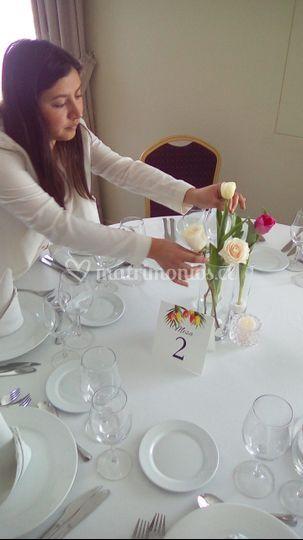 Montaje mesas