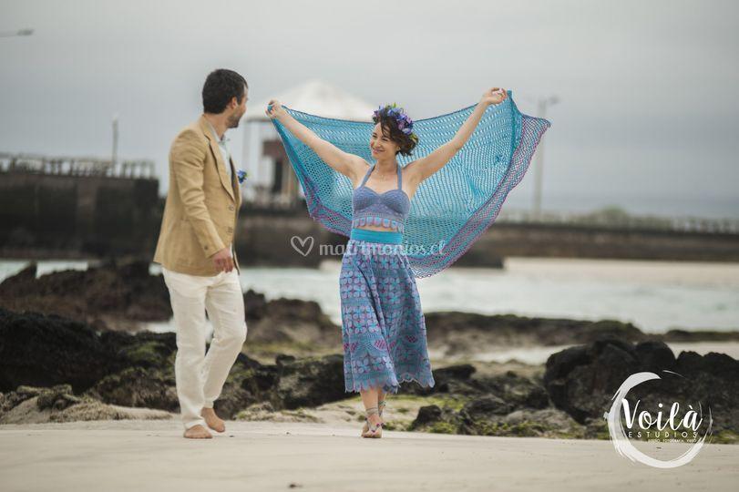 Matrimonio en Galápagos