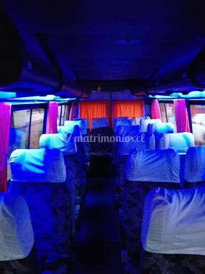 Capacidad 19 pasajeros