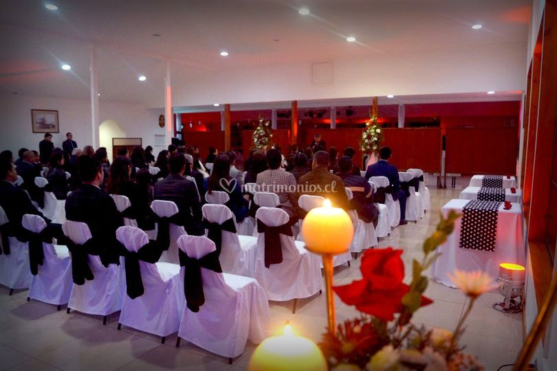 Ceremonia salón