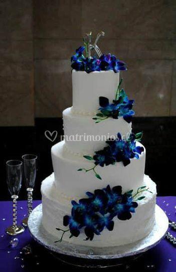 Torta flores