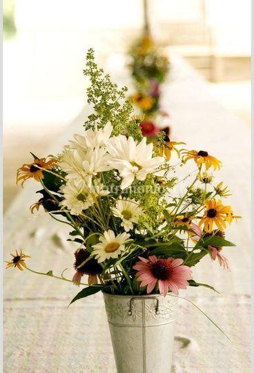 Opción de arreglos florales